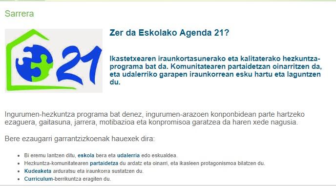 Asti leku en agenda 21 escolar de portugalete asti leku - Ies antonio trueba ...